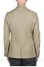 SBU 02861_2020SS Single breasted beige linen blended blazer 04