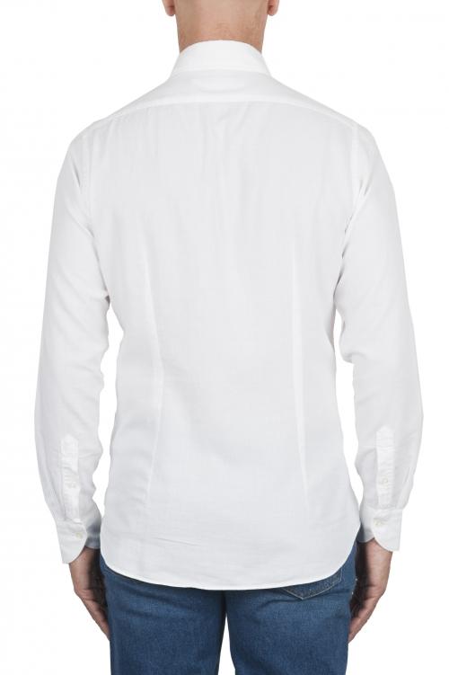 SBU 02901_2020AW White cotton twill shirt 01