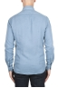 SBU 02902_2020AW Camicia in twill di cotone blu 05
