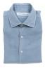 SBU 02902_2020AW Camicia in twill di cotone blu 06