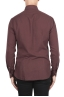 SBU 02903_2020AW Camisa de sarga de algodón rojo oscuro 05
