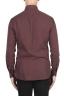 SBU 02903_2020AW Dark red cotton twill shirt 05