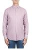 SBU 02906_2020AW Camisa de sarga de algodón rosa 01