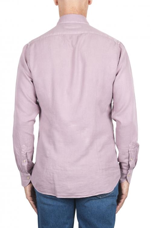 SBU 02906_2020AW ピンクコットンツイルシャツ 01