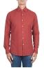 SBU 02907_2020AW Camicia in twill di cotone rossa 01