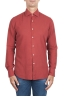 SBU 02907_2020AW Red cotton twill shirt 01