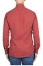 SBU 02907_2020AW Camicia in twill di cotone rossa 05