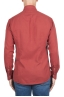 SBU 02907_2020AW Red cotton twill shirt 05