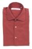 SBU 02907_2020AW Camicia in twill di cotone rossa 06