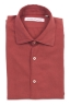 SBU 02907_2020AW Red cotton twill shirt 06