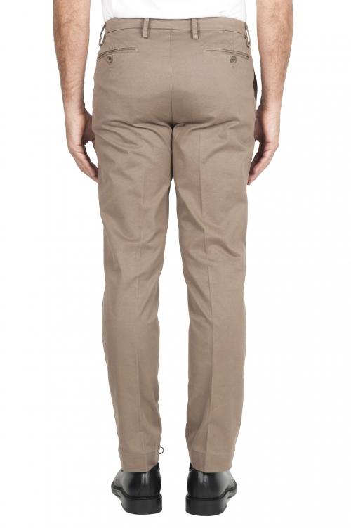 SBU 02919_2020AW Pantaloni chino classici in cotone stretch beige 01