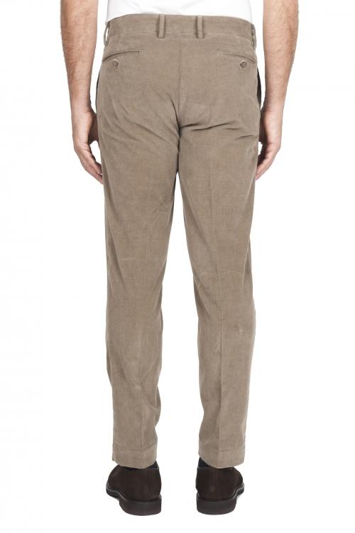 SBU 02930_2020AW Pantaloni chino classici in cotone stretch beige 01