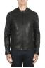 SBU 02943_2020AW Black leather motorcycle jacket 01