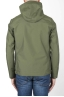 SBU 02952_2020AW Technical waterproof hooded windbreaker jacket green 04