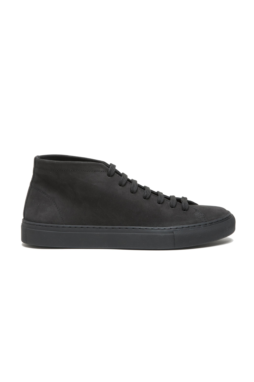 SBU 02968_2020AW Sneakers stringate alte nere in nabuk 01
