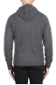 SBU 02979_2020AW Grey cashmere and wool blend hooded sweater 05