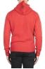 SBU 02981_2020AW Pull à capuche orange en cachemire et laine mélangés 05