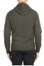 SBU 02982_2020AW Green cashmere and wool blend hooded sweater 05