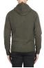 SBU 02982_2020AW Maglia con cappuccio in lana misto cashmere verde 05