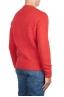 SBU 02984_2020AW Orange cashmere and wool blend crew neck sweater 04
