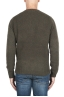 SBU 02986_2020AW Green cashmere and wool blend crew neck sweater 05