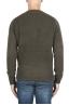 SBU 02986_2020AW Jersey verde de cachemir y mezcla de lana con cuello redondo 05