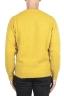 SBU 02987_2020AW Maglia girocollo in lana misto cashmere giallo 05