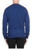 SBU 02988_2020AW Pull à col rond en cachemire et laine mélangés bleu 05