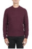 SBU 02989_2020AW Red cashmere and wool blend crew neck sweater 01