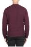 SBU 02989_2020AW Jersey rojo de cachemir y mezcla de lana con cuello redondo 05