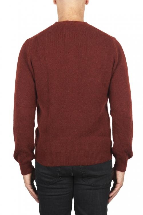 SBU 02991_2020AW 赤いアルパカとウール混のクルーネックセーター 01