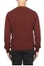 SBU 02991_2020AW Red alpaca and wool blend crew neck sweater 05