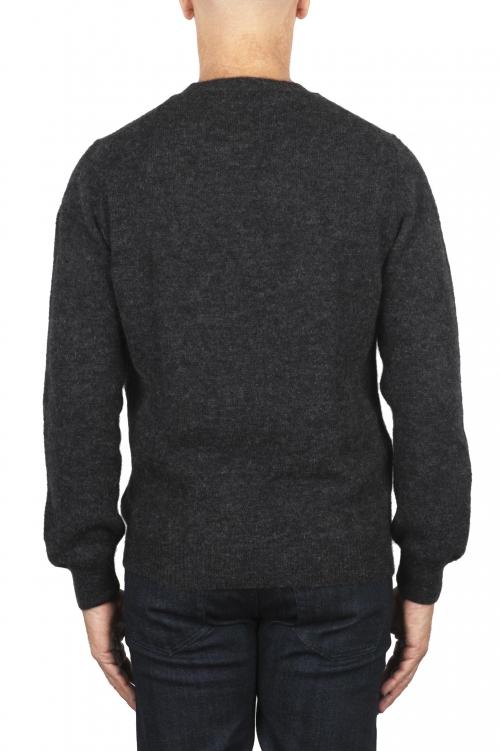 SBU 02992_2020AW Jersey de cuello redondo en mezcla de lana y alpaca gris 01
