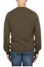 SBU 02993_2020AW Green alpaca and wool blend crew neck sweater 05