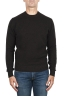 SBU 02996_2020AW Maglia girocollo in lana misto cashmere marrone melange 01