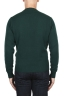 SBU 03001_2020AW Green wool and cashmere blend crew neck sweater 05