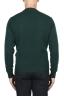 SBU 03001_2020AW Jersey de cuello redondo en mezcla de lana y cachemir verde 05