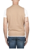 SBU 03005_2020AW Camel round neck merino wool and cashmere sweater vest 05