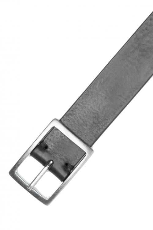SBU 03026_2020AW Cinturón de piel de vacuno 3.5 cm negro 01