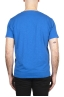 SBU 03064_2020AW Flamed cotton scoop neck t-shirt China blue 05