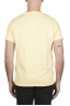 SBU 03065_2020AW Flamed cotton scoop neck t-shirt yellow 05
