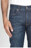SBU - Strategic Business Unit - Original Indigo Dyed Japanese Stretch Denim Stone Washed Blue Jeans
