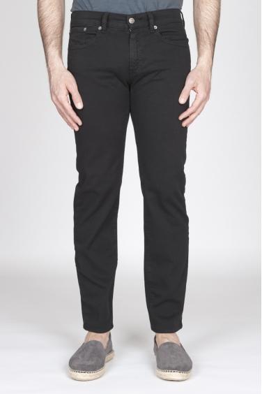 SBU - Strategic Business Unit - Jeans In Bull Denim Sovrattinto Elasticizzato Nero