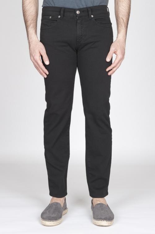 SBU - Strategic Business Unit - Black Overdyed Stretch Bull Denim Jeans