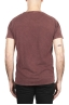 SBU 03069_2020AW Flamed cotton scoop neck t-shirt brick red 05
