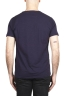 SBU 03071_2020AW Flamed cotton scoop neck t-shirt purple 05