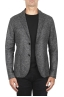 SBU 03093_2020AW Grey wool blend sport blazer unconstructed and unlined 01
