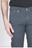 SBU - Strategic Business Unit - Grey Overdyed Stretch Bull Denim Jeans