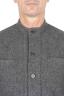 SBU 03107_2020AW Grey mandarin collar sartorial work jacket 04
