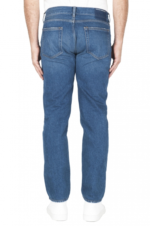 SBU 03109_2020AW Blue jeans stone washed in cotone tinto indaco 01
